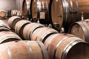 presentoir bois vin